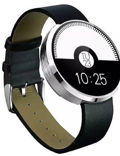 DM360 Wearables Reloj Inteligente, Bluetooth4.0, Manos Libres, Monitor de Frecuencia Cardíaca, Rastreador de Actividad, Plata