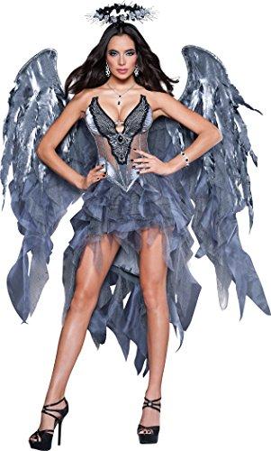 Disfraz ángel demonio mujer Premium - L
