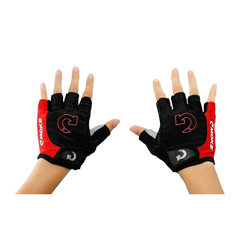 Mbtaua Sports Racing Cycling Gloves Motorcycle Bike Gloves Bicycle Gel Half Finger Gloves Driving Gloves