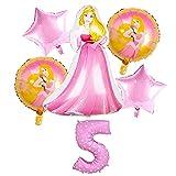 JSJJATF Globos Forma de Dibujos Animados Ceremonia de Boda Ceremonia de Boda Cumpleaños Decoración de la Fiesta de cumpleaños Blanco Blanco Durmiente Balloon (Color : 5)