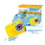 "EasyPix W1024 Splash Digitalkamera, wasserdicht 3m, CMOS 10MP, 2,4""LCD, gelb"