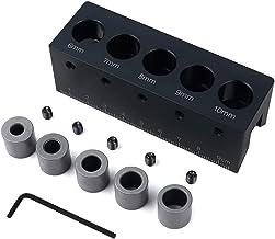 Shefii - Guía de taladro de ángulo recto de 90 grados para perforar agujeros de aleación de aluminio