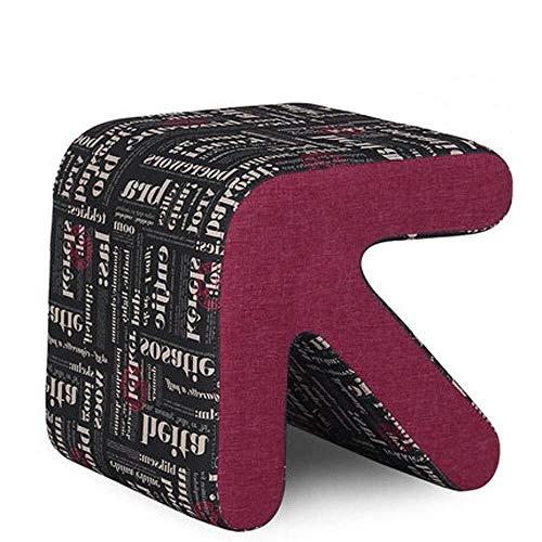 Estilo Europeo flecha Sofá Taburete Zapato Vestir heces Mesa de café el resto del pie de heces for la sala Umbral (Color : #3, Size : Medium)