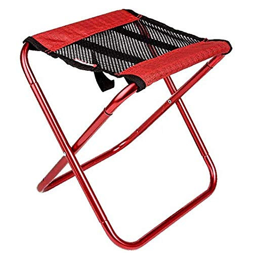 ZAIHW Viajes artefacto portátil Ligero Plegable Silla de Playa Que acampa Plegable Silla Ultraligero Ultra duraluminio Mazar Adecuado for Backpacking Senderismo Pesca Barbacoa, etc