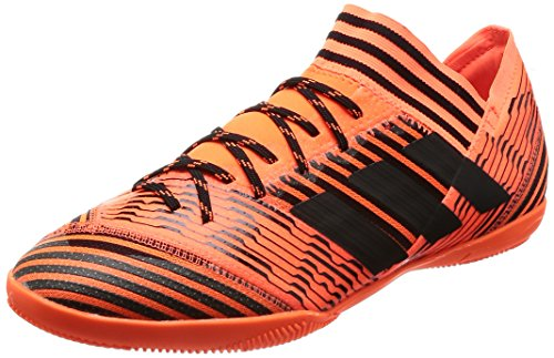 adidas Nemeziz Tango 17.3 in, Scarpe da Calcetto Indoor Uomo, Arancione Narsol Negbas Rojsol 000, 46...