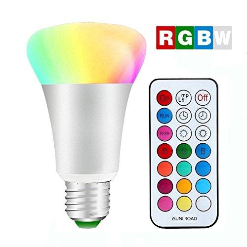 Minger Intelligente Lampadina LED RGBW, Luce di bianco...