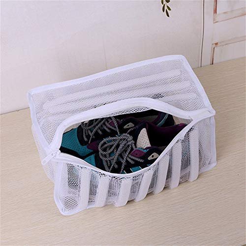 HKHJN Wäscheservice Schuhe Sneaker Washer Trockner weiß Mesh Wash Bag Schuh Dessous Kleidung