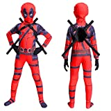ZYYNET Deadpool Cosplay Costume Combinaison Superhero Déguisement Body Enfants...