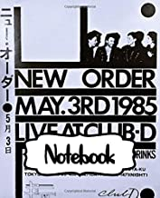 Notebook: New Order English Rock Band 1983 Hit