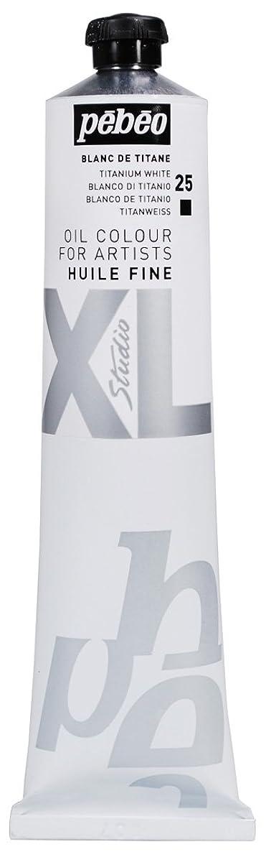 PEBEO Studio XL Fine Oil 200-Milliliter, Titanium White