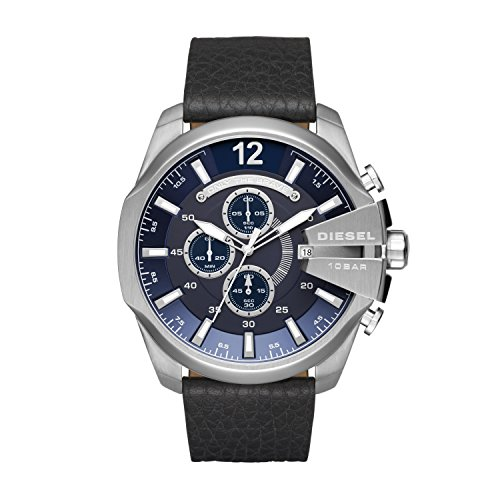 Diesel Reloj para Hombre de Cuarzo con Correa en Cuero DZ4423