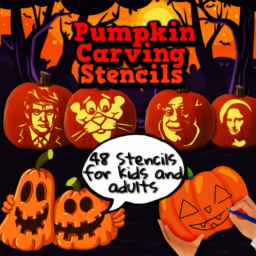 Compare Textbook Prices for Pumpkin Carving Stencils 48 Stencils for Kids and Adults: 48 Funny and Scary Patterns| Easy Medium and Hard| Decorating and Pumpkin Crafts|  ISBN 9798497791051 by Publishing, Global
