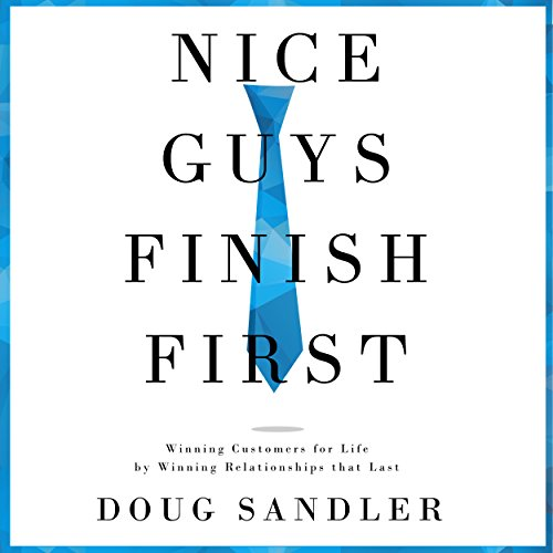 Nice Guys Finish First audiobook cover art