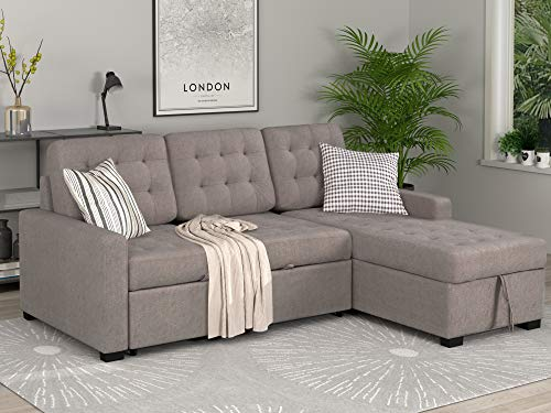Merax-Sectional-Sofa-Sleeper-Sofa-Couch-Loveseat-with-Chaise-Lounge-and-Storage-Ottoman