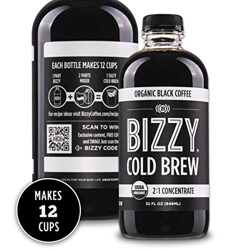 Bizzy Organic Cold Brew Concentrate Coffee