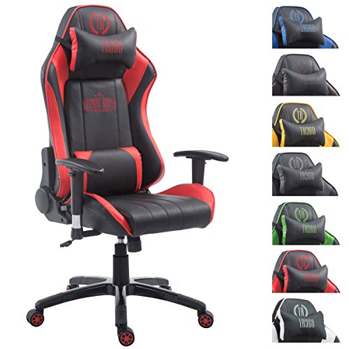 Silla gaming amarilla Shift X2 en cuero PU