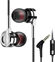 Xmate Matrix in-Ear Metal Wired Headphones with Mic - (Black/Sliver)