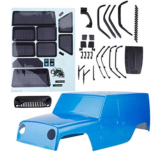 Zouminy RC Car Body Shell, accessoires voor RC Car Body Hard Shell voor RGT EX86100 RC Crawler