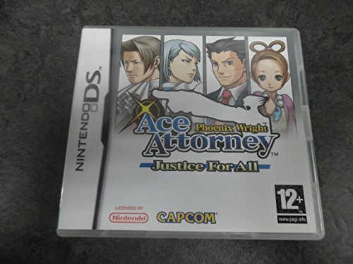 Phoenix Wright: Ace Attorney - Justice For All (Nintendo DS) (Versione UK)