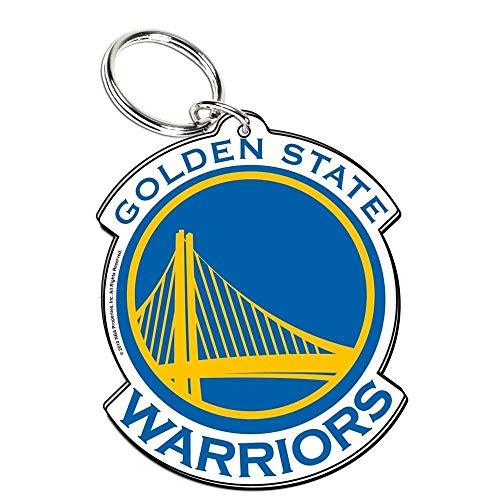 Wincraft NBA 21238010 Golden State Warriors Llavero de acrílico de primera calidad