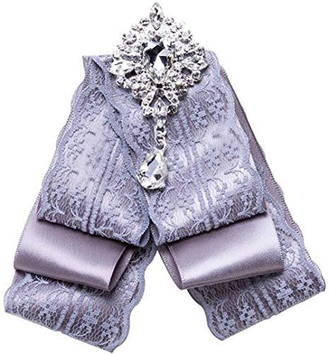 FOPUYTQABG Broche romántico con forma de hoja de cristal encantador broche pin...
