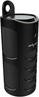 Zealot S8 Wireless Bluetooth Speaker, Mike Franklins Portable 3D Touch Stereo Bass Speakers Support TF Card Playing, 4000mAh Power Bank with Protective Case