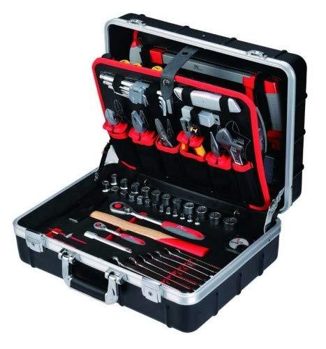 Tixit Aluminium-Werkzeugkoffer Elektriker 125 tlg, 60750