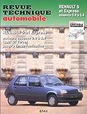 Renault 5 Et Express - Moteurs Essence Atmosphérique De 0.91 À 1.4