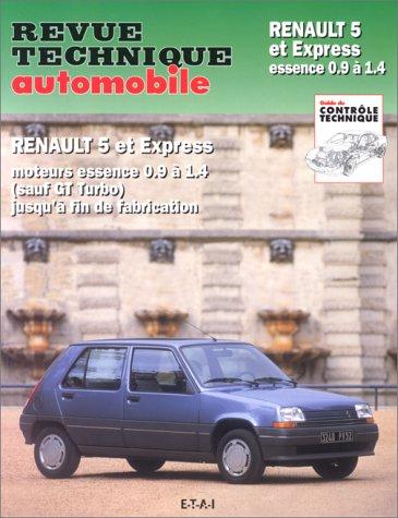 Renault 5 et Express, n° 711/ref 11183. Moteur, essence 0,9 à 1,4 (Sauf GT Turbo) jusqu'à fin de fabrication