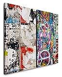 Paul Sinus Art Leinwandbilder 2 Stück je 40x60cm John