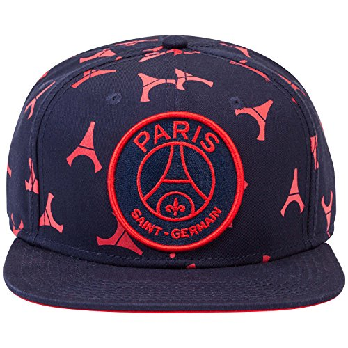 PARIS SAINT GERMAIN Casquette PSG - Collection Officielle Taille Adulte Homme