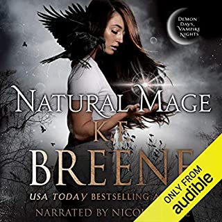 Natural Mage audiobook cover art