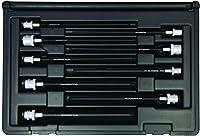 Bondhus 30799 Socket Star Bit Tool Set with Sockets 6 9 Piece [並行輸入品]