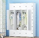 PREMAG - Guardarropa portátil para colgar ropa, armario