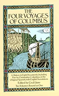 The Four Voyages of Columbus (Dover Books on Travel, Adventure) (English, Spanish and Spanish Edition)