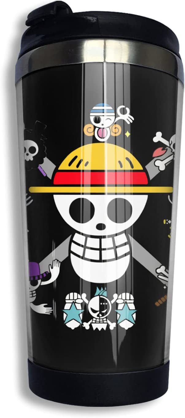 One Piece Logo Anime Coffee Cup Cute High order Print Mug Thermos 3d 2021new shipping free shipping