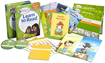 Amazon Exclusive Hooked on Phonics Learn to Read 1st Grade Complete with BONUS S