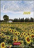 Lebensweisheiten Wochenkalender. Wandkalender 2020. Wochenkalendarium. Spiralbindung. Format 16,5 x 23 cm - Harenberg