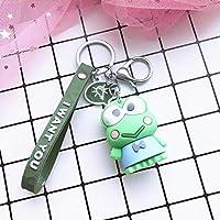Xi-Yu さんのファッション創造的なキーチェーンバッグペンダントの宝石2個 (Color : 8)