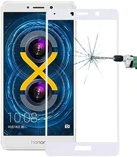Huawei Honor 6x Gr5 2017 Mate 9 Lite Full Kaplama Kırılmaz Cam Ekran Koruyucu BEYAZ