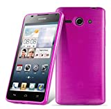 Cadorabo Hülle für Huawei Ascend G520 / G525 in PINK -