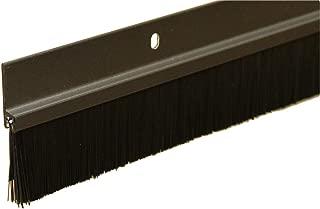 84 Long Brush Door Sweep with .750 Long Black Brush Brown