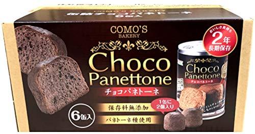 コモ『缶詰チョコパネトーネ』