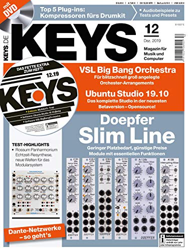 KEYS Magazin für Musik, Computer, Samples 8 Top 5 Plug-ins: Kompressoren fürs Drumkit - Audiobeispiele zu Tests und Presets - Dante-Netzwerke -