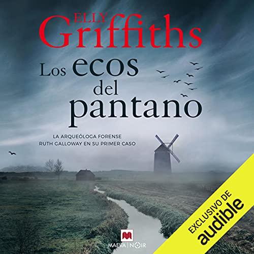 Diseño de la portada del título Los ecos del pantano