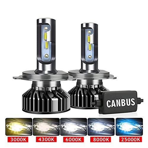 Accesorios de iluminación automotriz Faros del coche CSP 16000LM 110W H4 LED H7 CANBUS H1 H3 H8 H8 H11 9005 9006 3000K 6000K AUTOMÁTICO AUTOMÁTICO AUTOMÁTICO LUCHES LED para auto Lámpara de xenón para