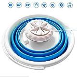 Zunbo - Lavadora mini Turbo portátil, con bañera plegable, lavadora con centrifugado para viajes, con alimentación USB