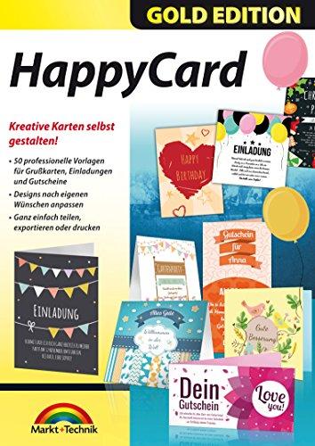 HappyCard Einladungen, Glückwunschkarten, Gutscheine selbst gestalten und drucken für Windows 10, 8.1, 8, 7, Vista