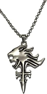 Final Fantasy Squall Griever Pendant Chain Necklace