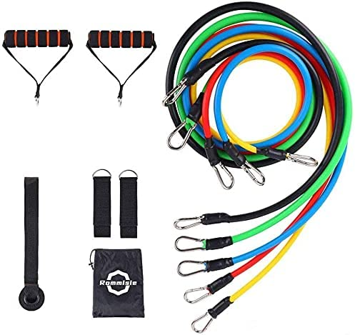 Jojobnj Resistance Bands Set 11 Omaha Mall Pack Portable excellence Workouts Acc Home